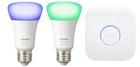 Philips Hue White & Color mit 2x E27 Lampen & Bridge für 82,59€ inkl. Versand
