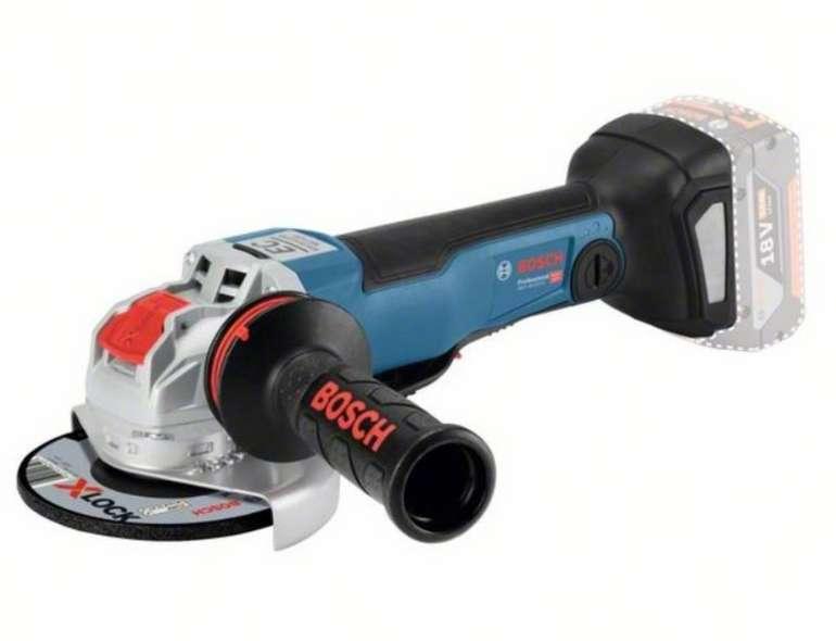 Bosch X-LOCK Winkelschleifer GWX 18V-10 PC Professional (ohne Akku und Ladegerät) für 149€ inkl. Versand (statt 179€)
