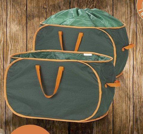 PRIMA GARDEN verschließbare Gartenabfalltaschen mit 333 Liter für 24,95€