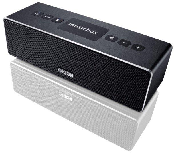 Canton Musicbox XS Bluetooth-Lautsprecher in Schwarz für 84,90€ inkl. Versand