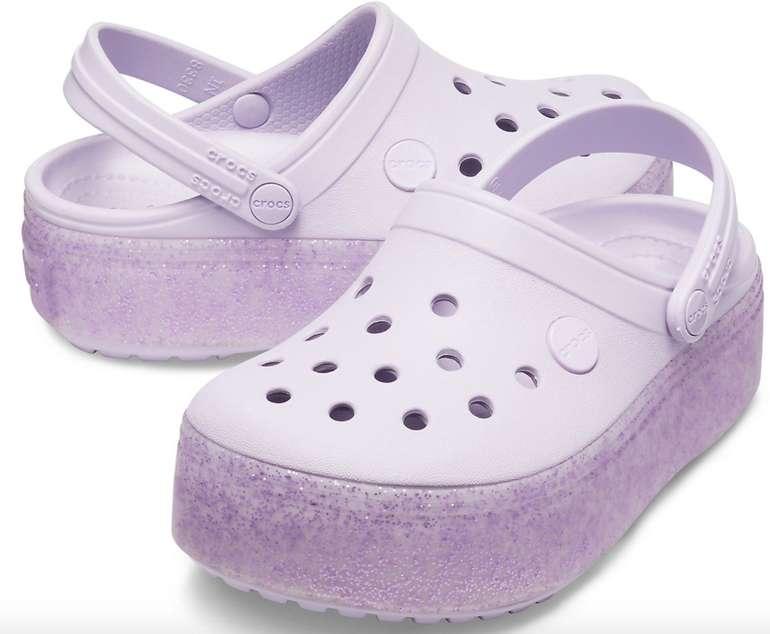 Crocs Crocband Platform Mädchen Clog's für 14€ inkl. Versand (statt 24€)