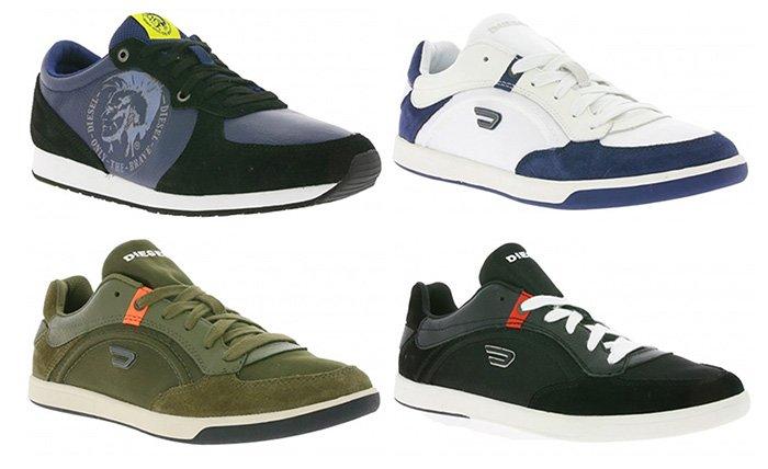 Verschiedene Diesel Sneaker für je 39,99€ inkl. Versand