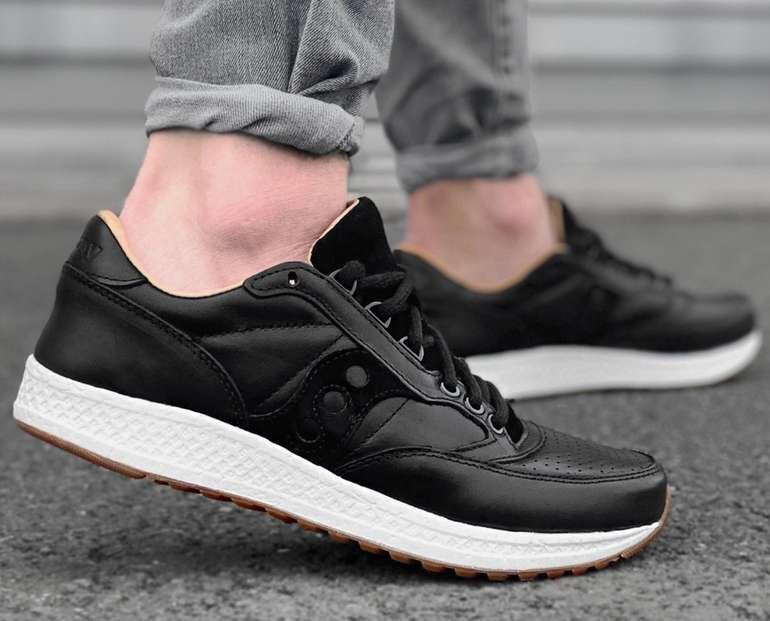 Saucony Freedom Runner Herren Leder Sneaker für 59,99€ inkl. Versand (statt 80€)