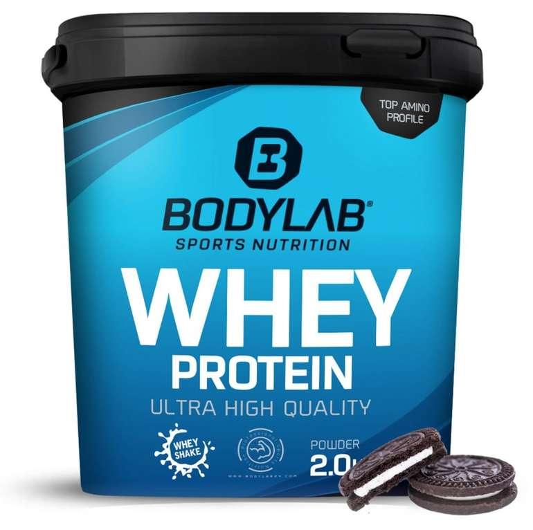 Bodylab24 Summer Sale mit bis zu 50% Rabatt - z.B. Whey Protein (2000g) für 29,50€ (statt 40€)