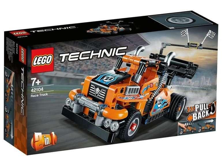 "Lego Technic 42104 ""Renn-Truck"" für 16,46€ inkl. Versand (statt 21€)"