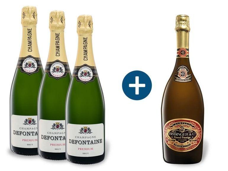 LIDL: Bis zu -29% Rabatt auf Champagner + VSKfrei ab 29€ Bestellwert