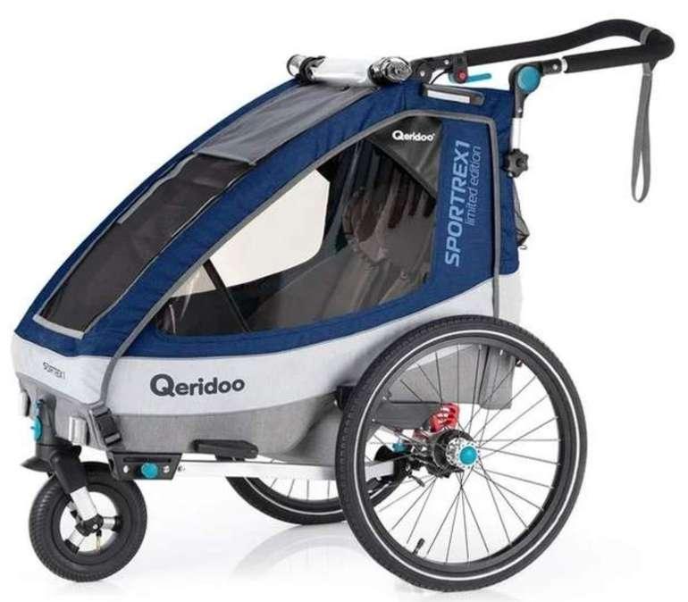Qeridoo Kinderfahrradanhänger Sportrex 1 (2020) Limited Edition für 329€ inkl. Versand (statt 373€)