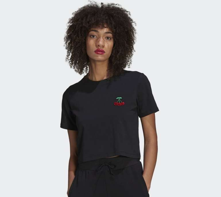 Adidas Her Studio London Crop Damen T-Shirt für 17,85€ (statt 30€) - Creators Club