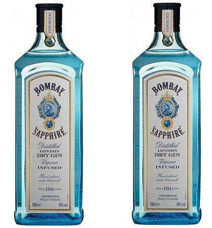 2 x 0.7 l Bombay Sapphire London Dry Gin + 1 Paar Socken für 29,99€ (statt 38€)
