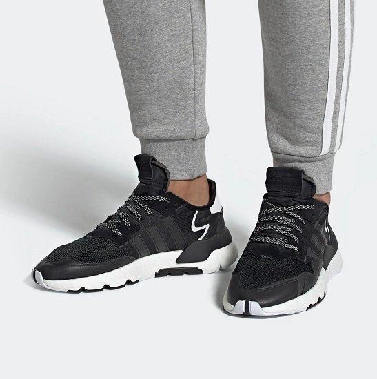 Adidas Originals Nite Jogger Herren Sneaker mit Boost-Sohle für 51,60€ inkl. Versand (statt 60€)