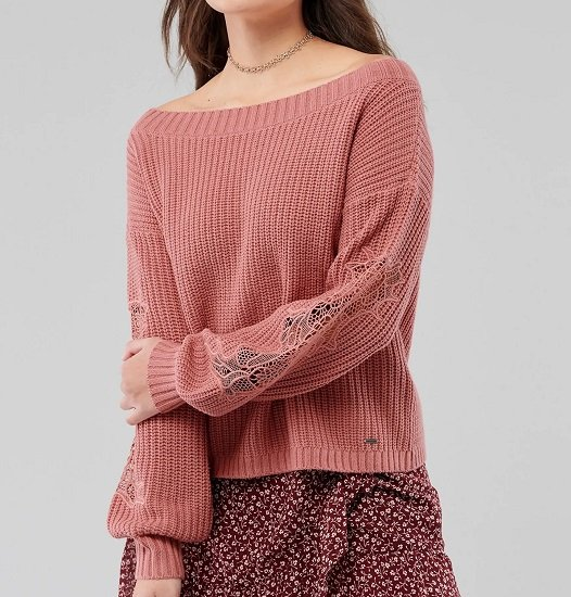 """Hollister Pullover """"Stitch Vneck Sweater 3CC"""" in zwei Farben für je nur 23,72€ (statt 37€)"""