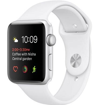 Apple Watch Series 1 - 38mm in silber/weiß für 142,72€ inkl. Versand