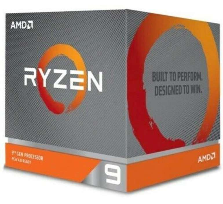 AMD Ryzen 9 3900X Boxed inkl. Wraith Prism Kühler (Prozessor) für 360,90€ (statt 415€)