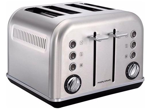 Morphy Richards 242026 Accents-Toaster für 62€ inkl. Versand (statt 78€)