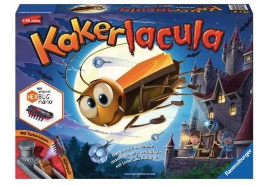 Kinder Geschicklichkeitsspiel: Ravensburger  Kakerlacula (22300) für 18,98€ inkl. VSK