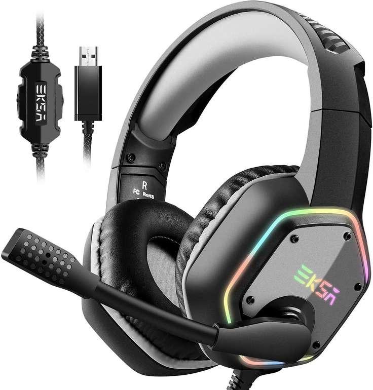 2 Eksa Gaming Headsets reduziert, z.B. E1000 mit RGB Licht für 25,19€ (statt 35€)