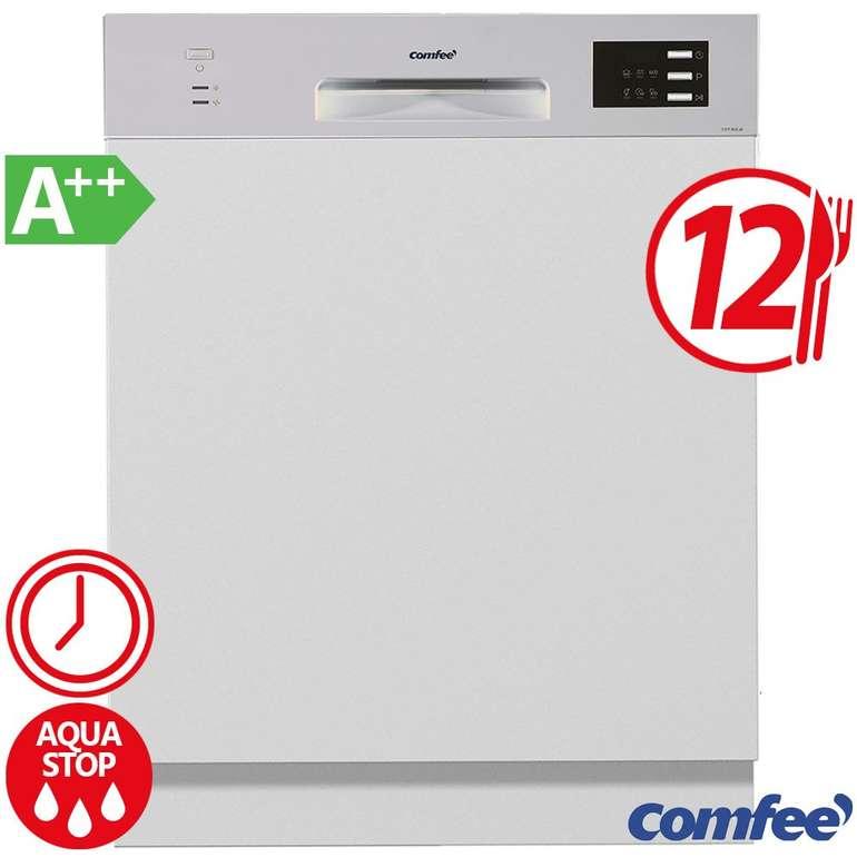 Comfee CGT 612 di – teilintegrierte Geschirrspülmaschine mit A++ für 259,99€ (statt 299€)