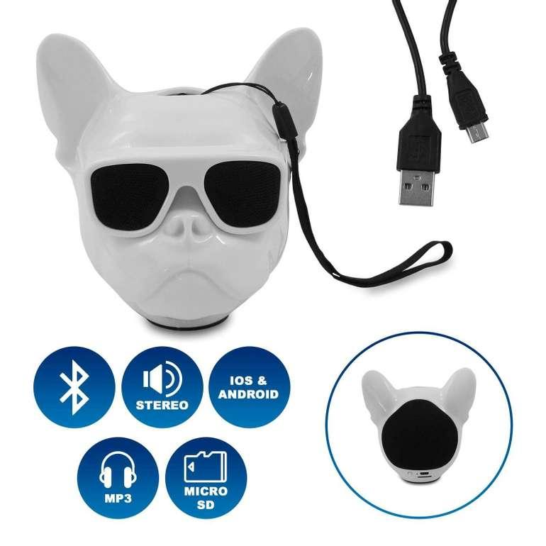 "Eaxus Bluetooth Stereo Lautsprecher ""BULLDOG"" für 11,99€ inkl. Versand (statt 17€)"