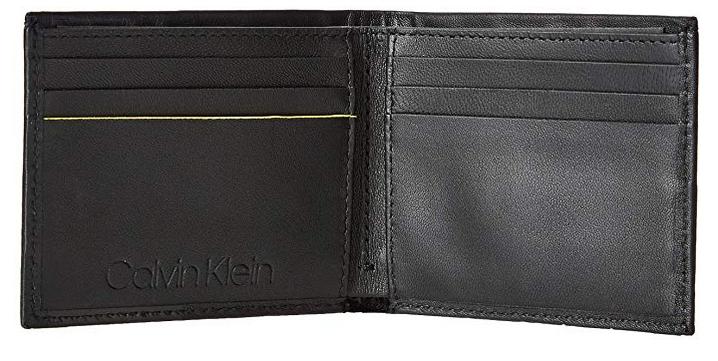 Calvin Klein Herren Elevated Slimfold 6cc Geldbörse für 31,41€ (statt 48€)