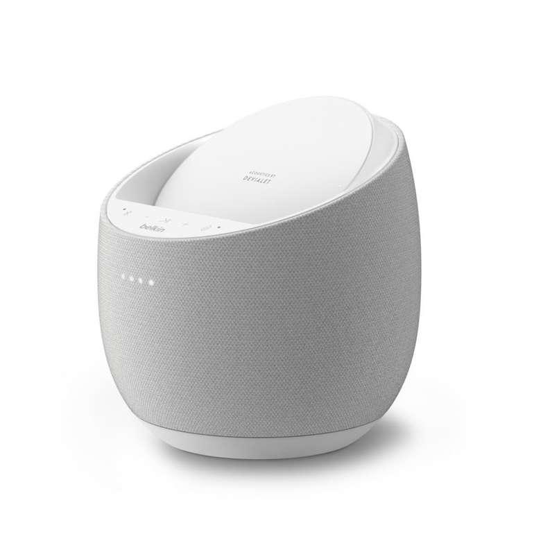 Belkin SoundForm Elite Smart Speaker (150W, WLAN, Bluetooth 5.0, WLAN, AirPlay 2, Alexa, Qi-Ladestation) für 99,99€ (statt 120€)