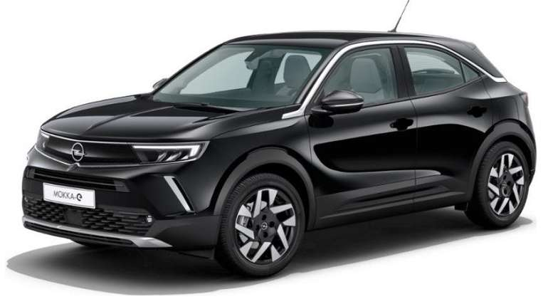 Privat-Leasing: Opel Mokka E Elektro Elegance 3-phasig mit 136 PS für 199€ mtl. - BAFA; ÜF: 999€; LF: 0,53