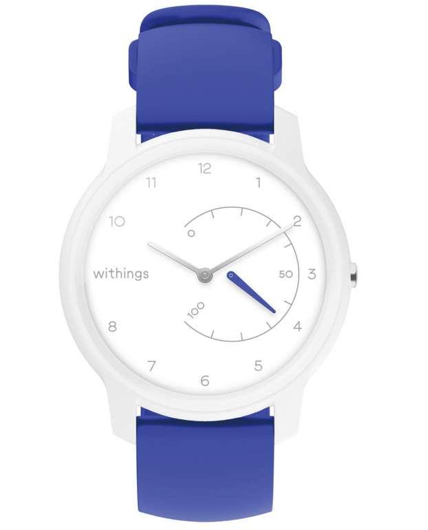 Withings Move Aktivitätstracker in weiß/blau für 40,98€ inkl. Versand (statt 66€)