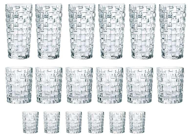 """18-teiliges Nachtmann """"Bossa Nova"""" Gläser-Set aus Kristallglas für 55,99€ (statt 75,94€)"""