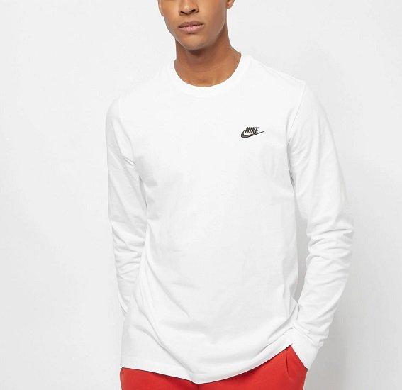 Nike Club Tee Longsleeve ab 19,99€ zzgl. Versand (statt 30€)