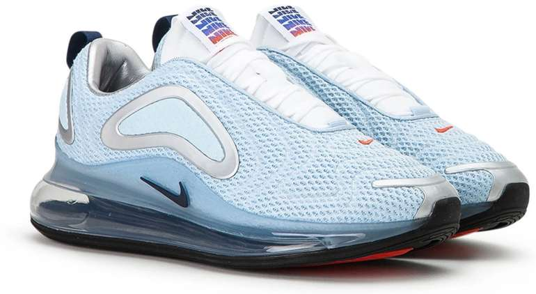 Nike Air Max 720 Herren Sneaker in hellblau für 81,88€ inkl. Versand (statt 141€) - Größe 43 bis 44,5