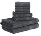 8-tlg. htovila Handtücher Set aus Baumwolle für 15,99€ inkl. Prime (statt 32€)