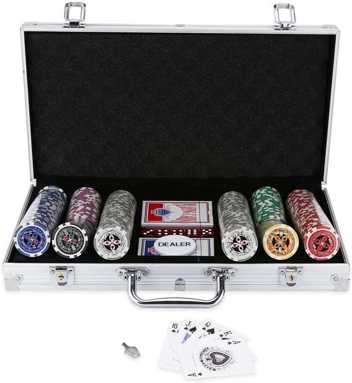 Bmot Pokerkoffer mit 300 Chips für 28,69€ inkl. Versand (statt 41€)