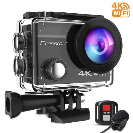 Crosstour Action Sport Cam (4K, 16 MP, WiFi, wasserdicht) für 35,99€ inkl. VSK