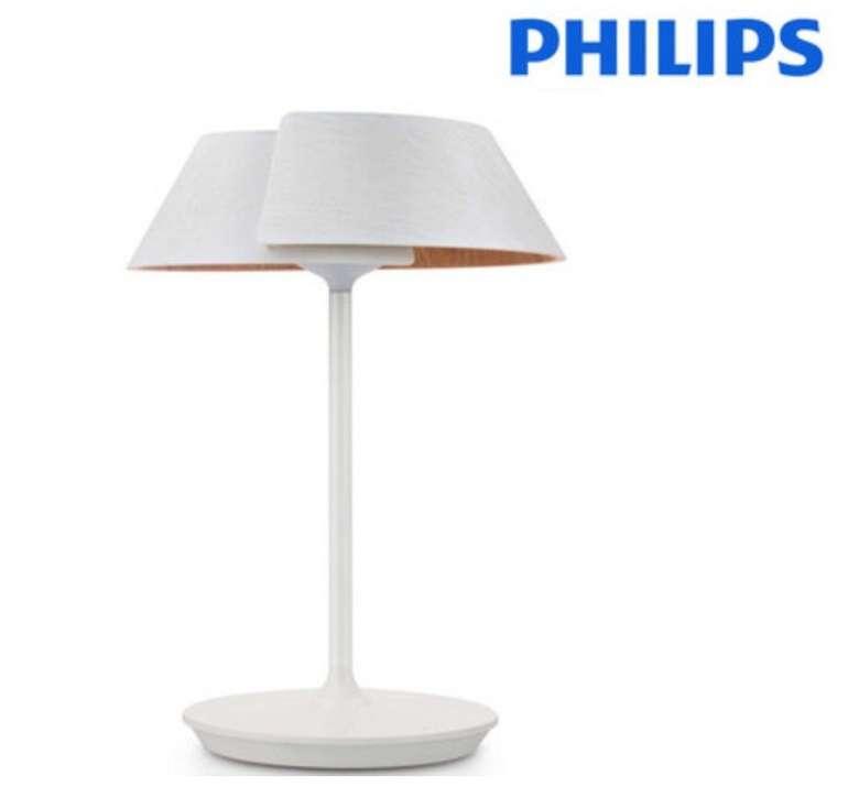 Dimmbare Philips Nonagon LED Tischlampe (7 Watt, 12 Volt) für 45,90€ (statt 79€)