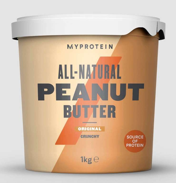 35% Rabatt auf alle Bestseller bei MyProtein - z.B. 1kg Erdnussbutter für 6,62€ (statt 10€)