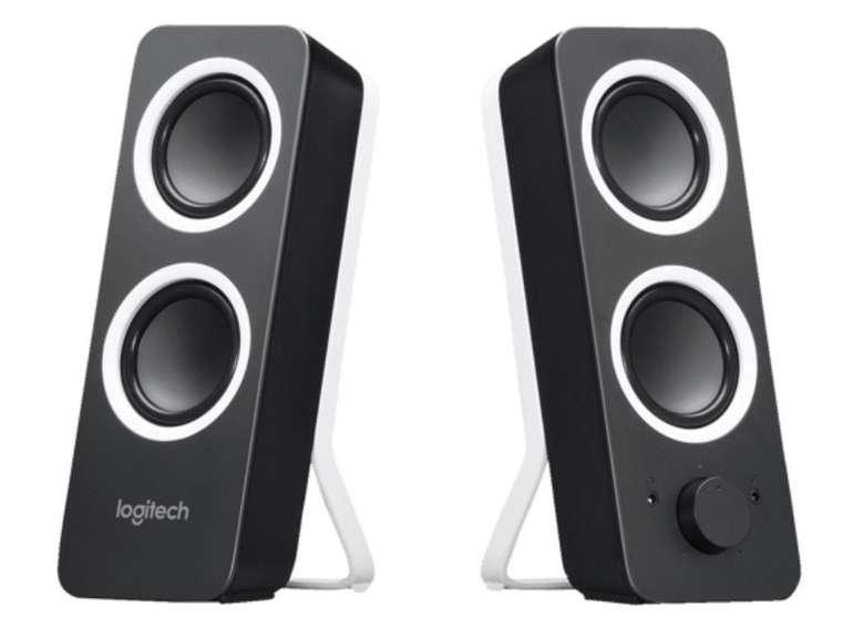 Logitech Z200 PC-Lautsprecher in Schwarz/Weiß für 22,99€ inkl. Versand (statt 27€)