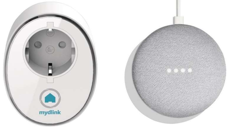 Google Home Mini + D-Link Wifi Steckdose für 39€ (statt 52€)