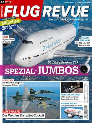 Jahresabo Flug Revue für 70,80€ + 65€ Amazon Gutschein