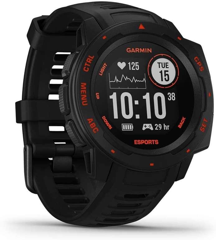 Garmin Instinct Esports Edition Smartwatch (Fitness-Tracking, bis zu 14 Tage Akkulaufzeit) für 175€ (statt 220€)