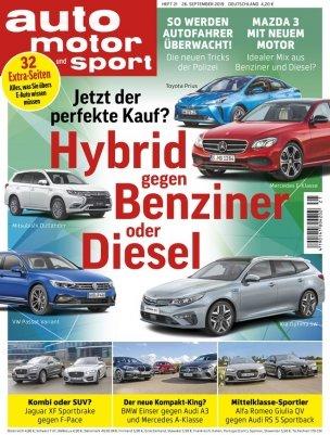 Auto Motor und Sport im Halbjahresabo für 59,15€ + 60€ Gutschein für Amazon