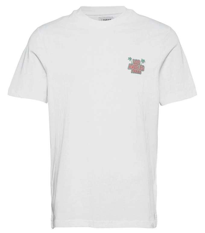 """Farah Herren T-Shirt """"JUDILEE"""" in Weiß für 17,45€ inkl. Versand (statt 29€)"""