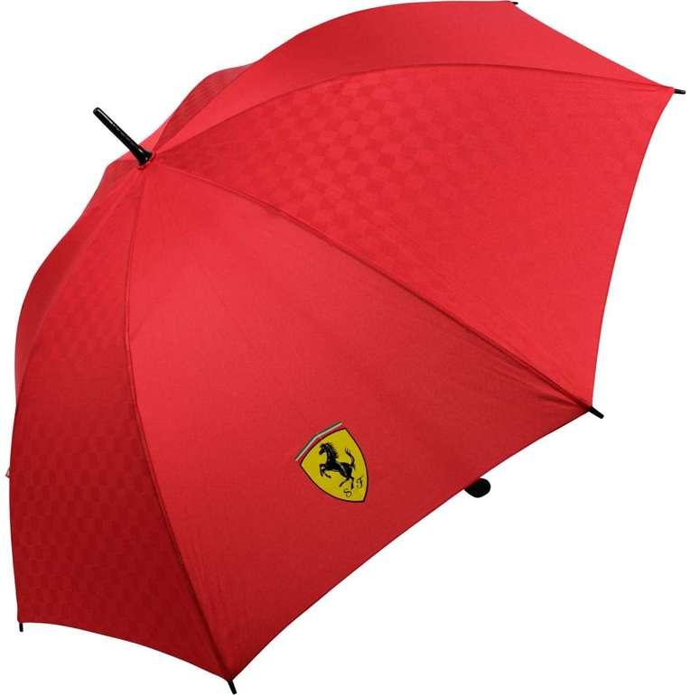 Scuderia Ferrari 125cm Regenschirm in zwei Farben für 16,99€ inkl. Versand (statt 23€)