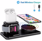Joyeky Apple Watch/iPhone/AirPods Ladestation + 2 Ladekabel für 25,99€ (Prime)