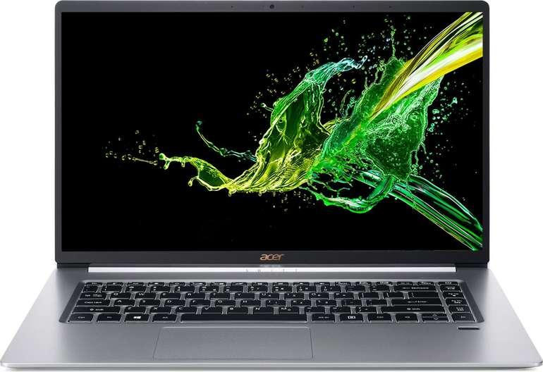 Acer Swift 5 (SF515-51T-76B6)  - 15,6 Zoll Touch Notebook mit i7, 512GB SSD & nur 990g Gewicht für 1.103,99€