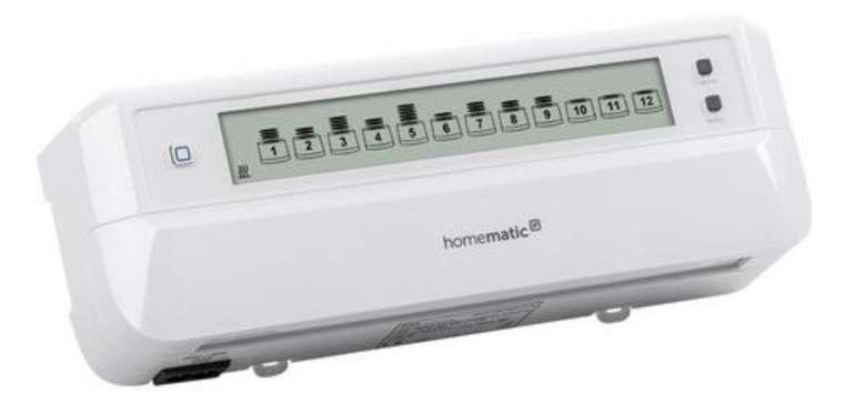 Homematic IP Funk Fußbodenheizungssteuerung motorisch HmIP-FALMOT-C12 für 159,96€inkl. Versand (statt 205€)