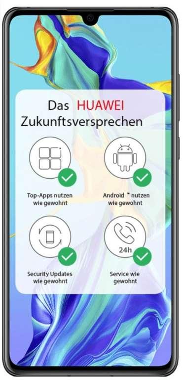 Huawei P30 Dual-SIM mit 128GB Speicher (49€) + o2 All-In M Allnet (5GB LTE) für 19,99€ mtl.