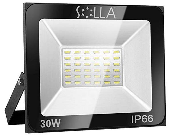 Solla 30W LED Flutlicht 6000K für 14,39€ inkl. Prime Versand (statt 24€)