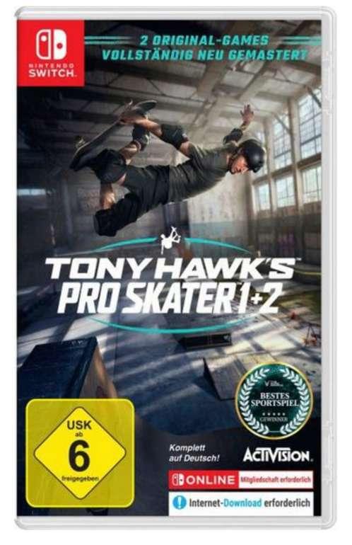 Tony Hawk's Pro Skater 1+2 (Nintendo Switch) für 40,50€inkl. Versand (statt 44€)