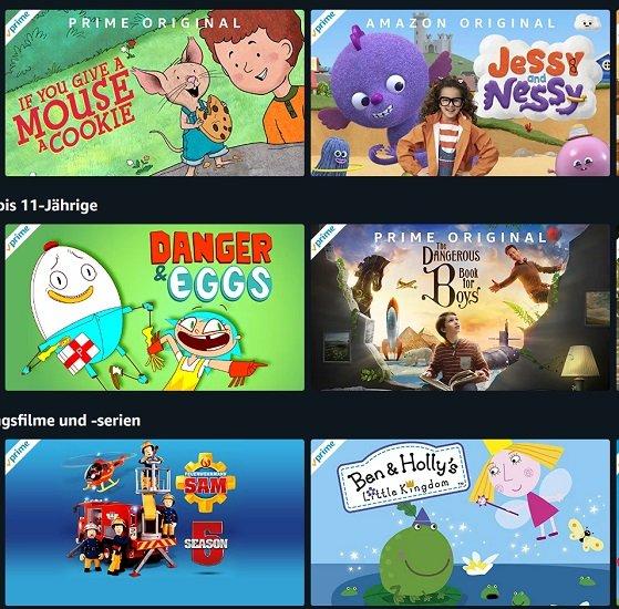Amazon: Viele Kinderserien nun kostenfrei verfügbar - Auch ohne Prime-Abo