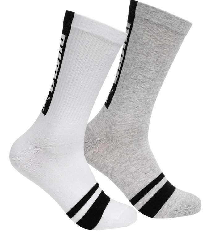 SportSpar Puma Socken: z.B 2 Paar Puma Seasonal Logo Herren Socken (vers. Farben) ab 4,99€
