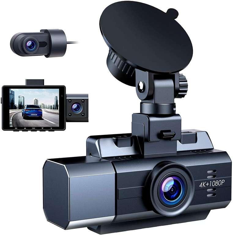 Camparkcam 3 Lens Dashcam mit G-Sensor für 94,99€ inkl. Versand (statt 140€)